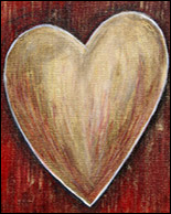 Loving Heart Tribute Painting